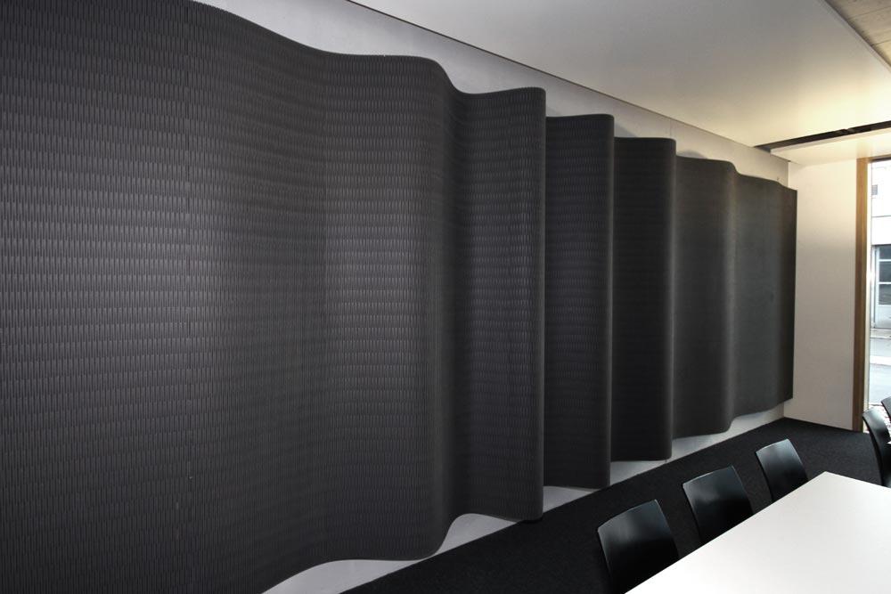 Raumakustik verbessern - dukta® flexible wood - paraSilencio